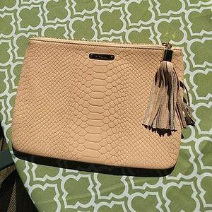 GIGI New York leather clutch women's
